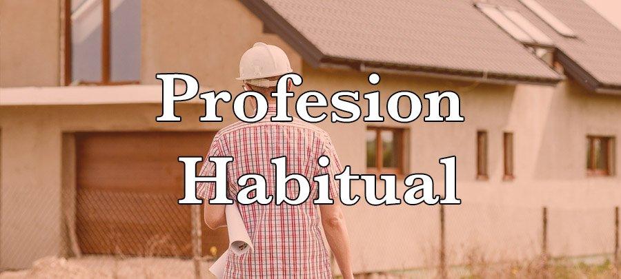 Profesión habitual